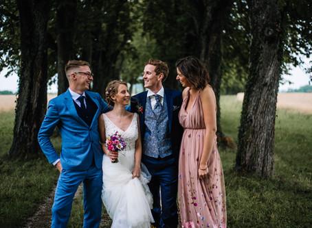 Romantische Hochzeit in Wimsbach