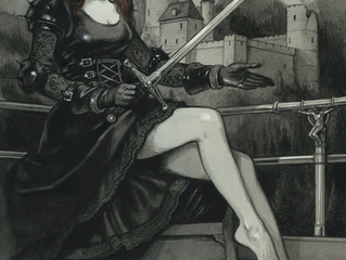 Salome painted by Sardax