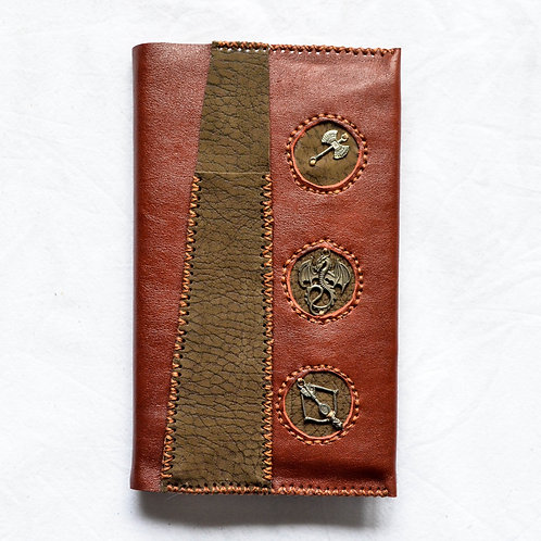 Leather Bound Journal ~Medieval Times