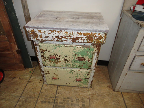 LOOK HOW AWESOME THE PATINA IS ON THIS SIDEBOARD