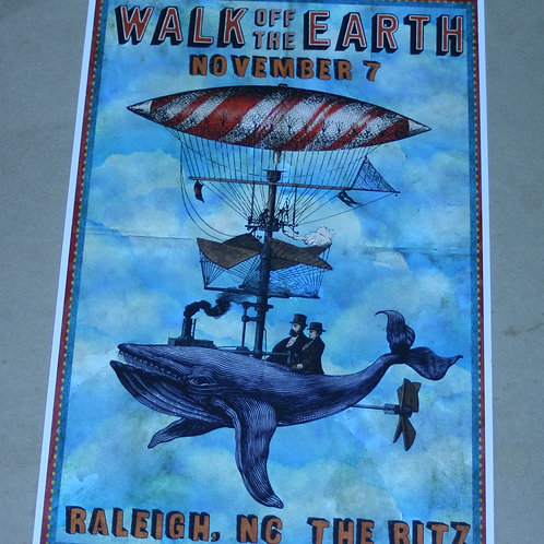 WALK OFF THE EARTH - NOV. 7 CONCERT POSTER