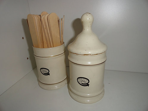 LILLY 1950's CREAM APOTHECARY SET