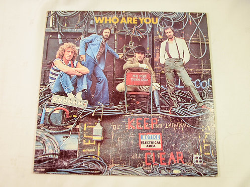 THE WHO - WHO ARE YOU (RED VINYL)