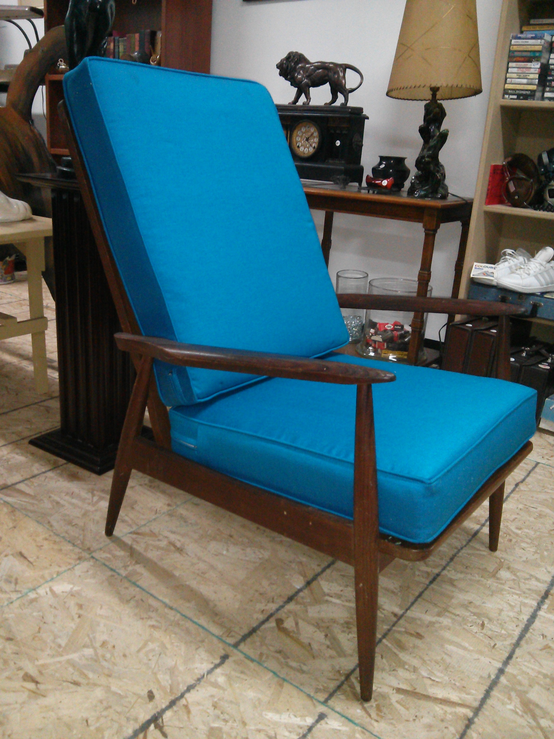 1950's MODERN MAD-MEN ERA CHAIR