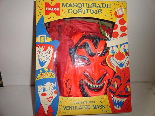 1960's KID'S DEVIL COSTUME