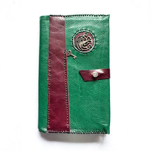 Leather Bound Journal ~ Dragon