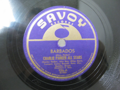 '78 RECORD CHARLIE PARKER / MILES DAVIS