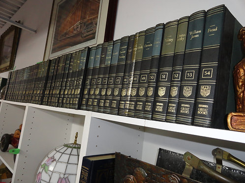 ENCYCLOPEDIA BRITAINNICA SET 1952 COMPLETE 54 GREAT BOOKS OF THE WESTERN WORLD