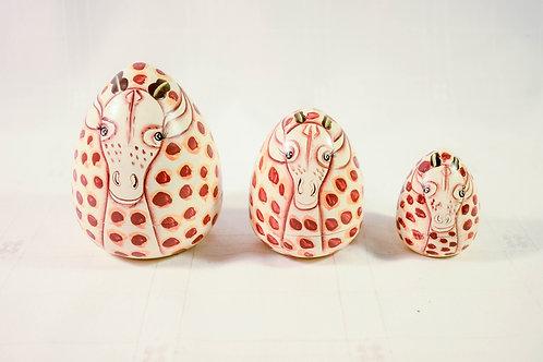 Giraffe Nesting Doll Set