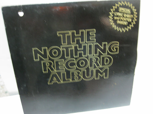 THE NOTHING RECORD ALBUM (NOVELTY GIFT!)