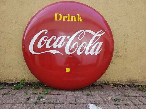 1956 Original Coca-Cola Advertising Button