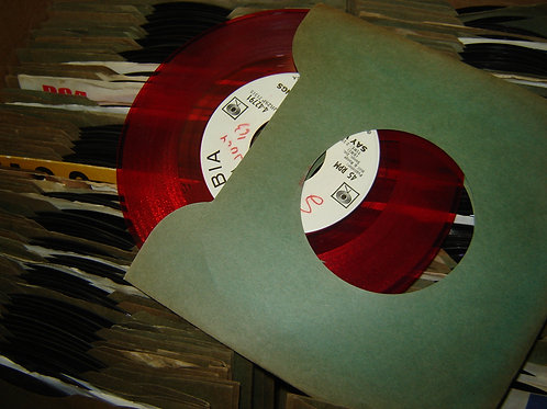 1960's RADIO STATION PROMOTIONAL '45 RECORDS lots!