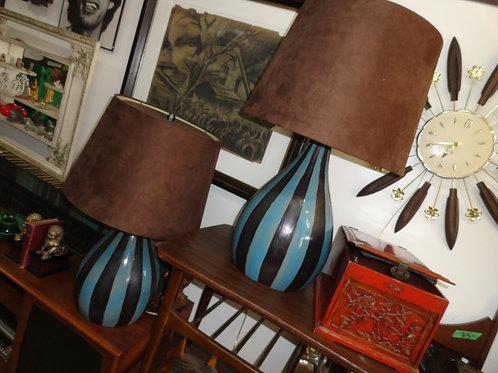 MID-CENTURY MODERN LAMPS SET
