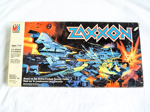 VINTAGE ZAXXON BOARD GAME