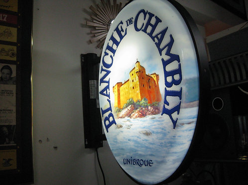BLANCHE DE CHAMBLY BAR SIGN