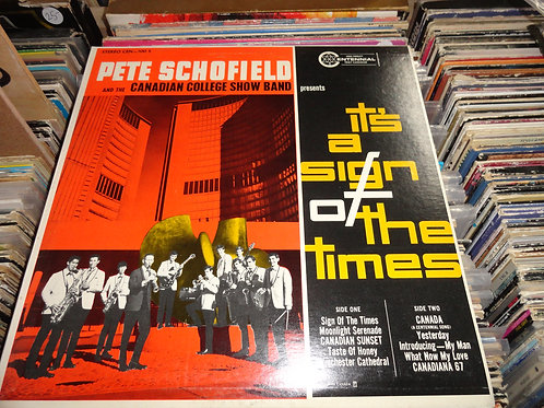 1967 PETE SCHOFIELD It's A Sign Of The Times CEN-100 S NM VG+