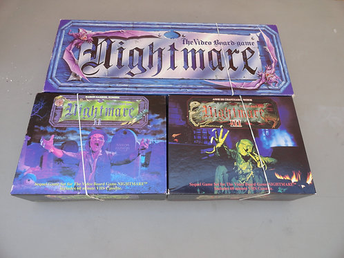 NIGHTMARE VHS Board Games 1, 2 & 3