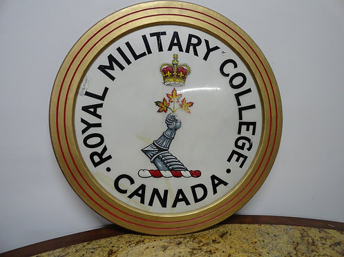 ROYAL MILITARY COLLEGE CANADA PARADE DRUM SKIN
