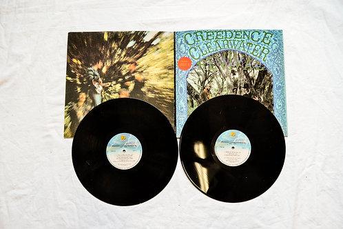 CCR 1968 & 1969 Double LP