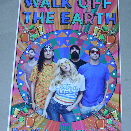 WALK OFF THE EARTH - NOV. 13 CONCERT POSTER