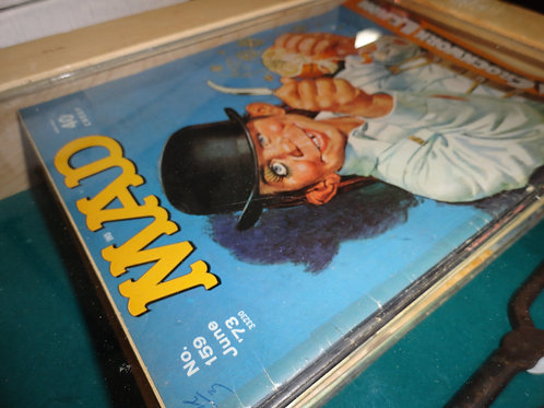 VINTAGE MAD MAGAZINE BACK ISSUES