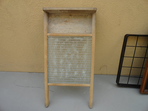 SMALL ANTIQUE WASHBOARD
