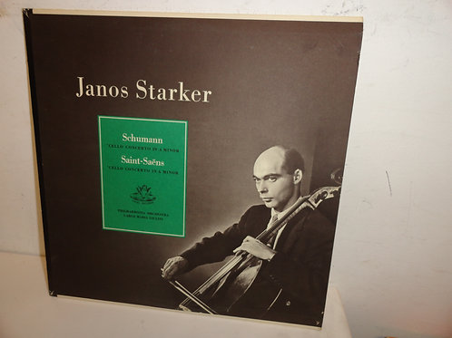 JANOS STARKER Schumann CELLO CONCERTO A MINOR