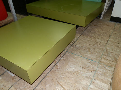 Mid Century Modern Low Profile Coffee End Tables Oddspot An Usual Store In Downtown
