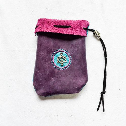 Leather Dice Bag