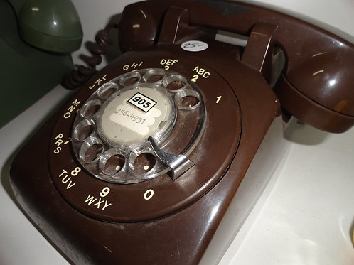 OLD SCHOOL ROTARY & PUSH BUTTON TELEPHONES