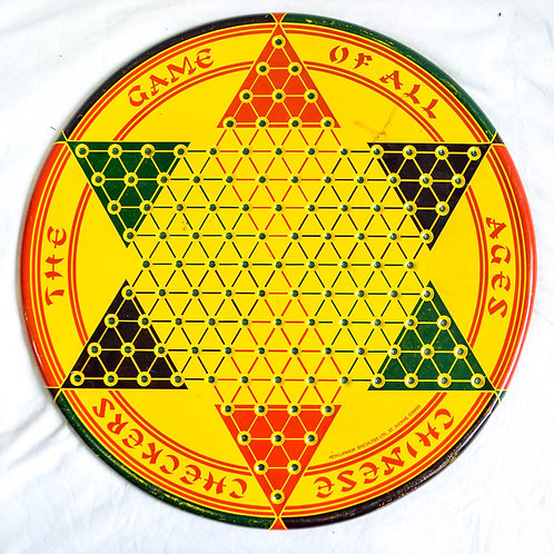 CHINESE CHECKERS / CHECKERS / CHESS GAME BOARD