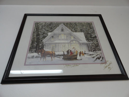 """VICTORIAN CHRISTMAS"" Walter Campbell Signed"