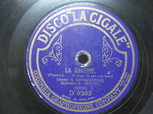 LA BOHEME / OTHELLO Disco La Cigale