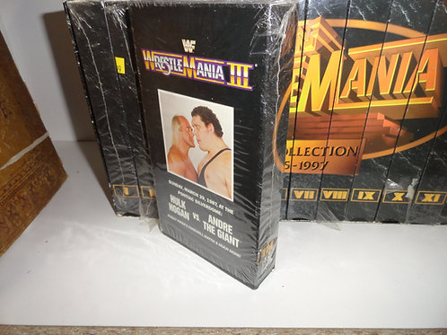 WWF WrestleMania Collection (1985-1997) COMPLETE SET
