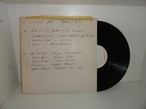 HEAVY & ALIVE Various Jazz VG+ VINYL RECORD TEST PRESSING