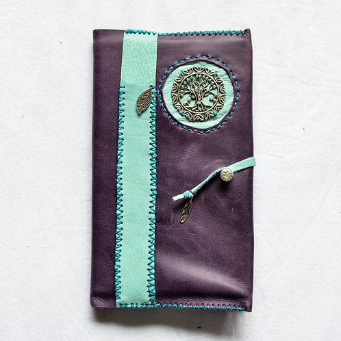 Leather Bound Journal ~ TREE