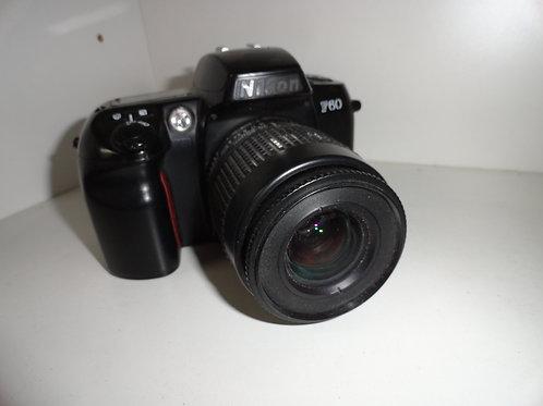 NIKON F60 FILM CAMERA with 35-80mm Nikkor Lens