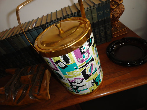 Mid-Century Modern Ice Bucket