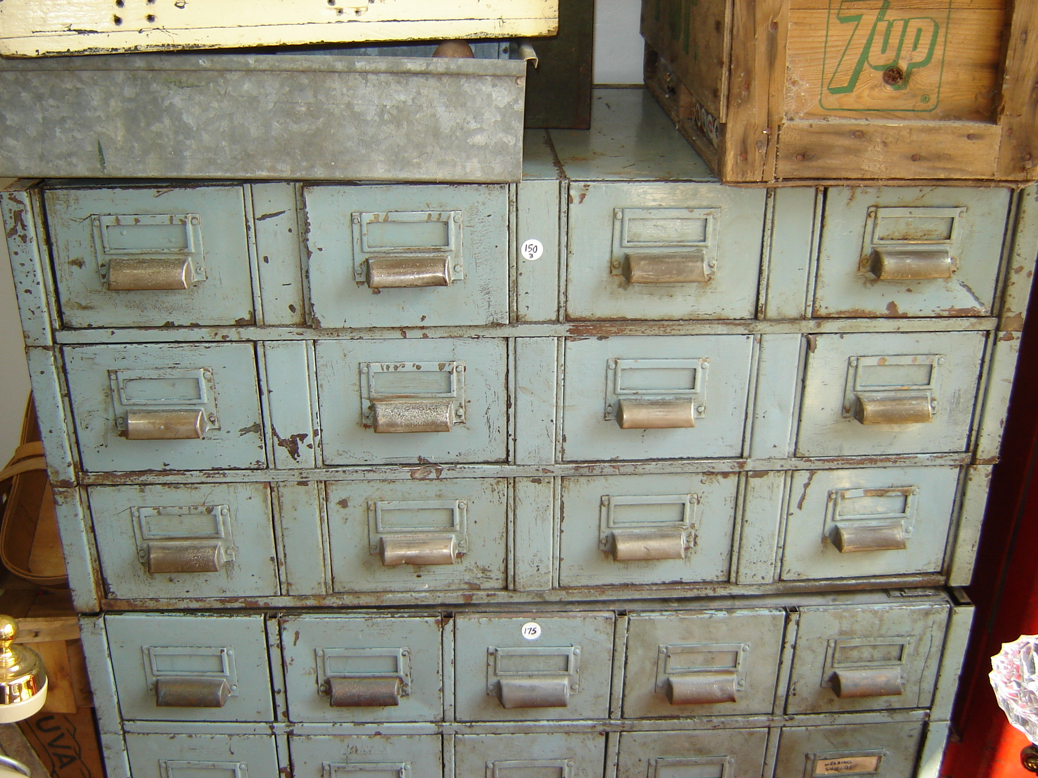 files away industrial cabinet