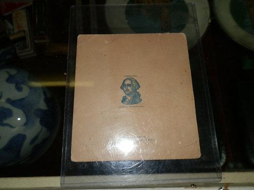 MASONIC 1905 INVITATION TO CELEBRATE GEORGE WASHINGTON'S 173rd BIRTHDAY