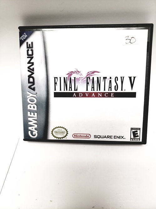 Nintendo Gameboy Advance Final Fantasy V