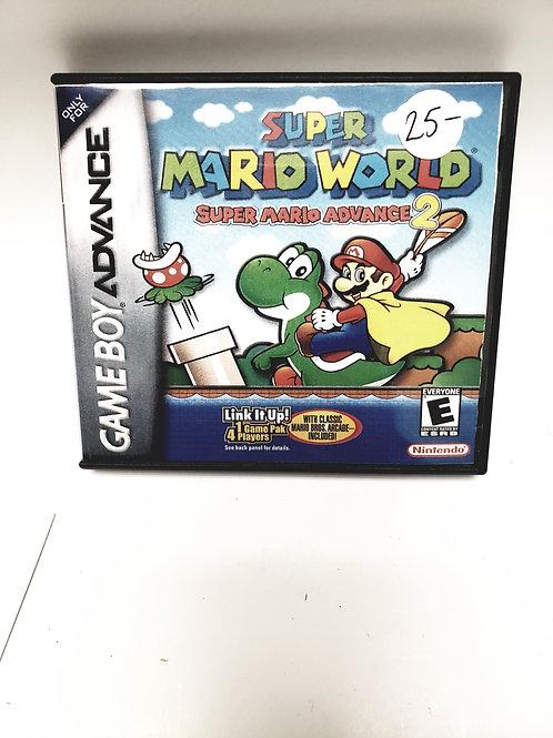 Nintendo Gameboy Advance Super Mario World 2