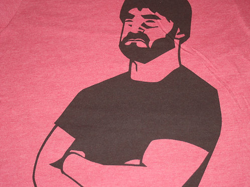 WALK OFF THE EARTH -BEARD GUY RED SIZE XL