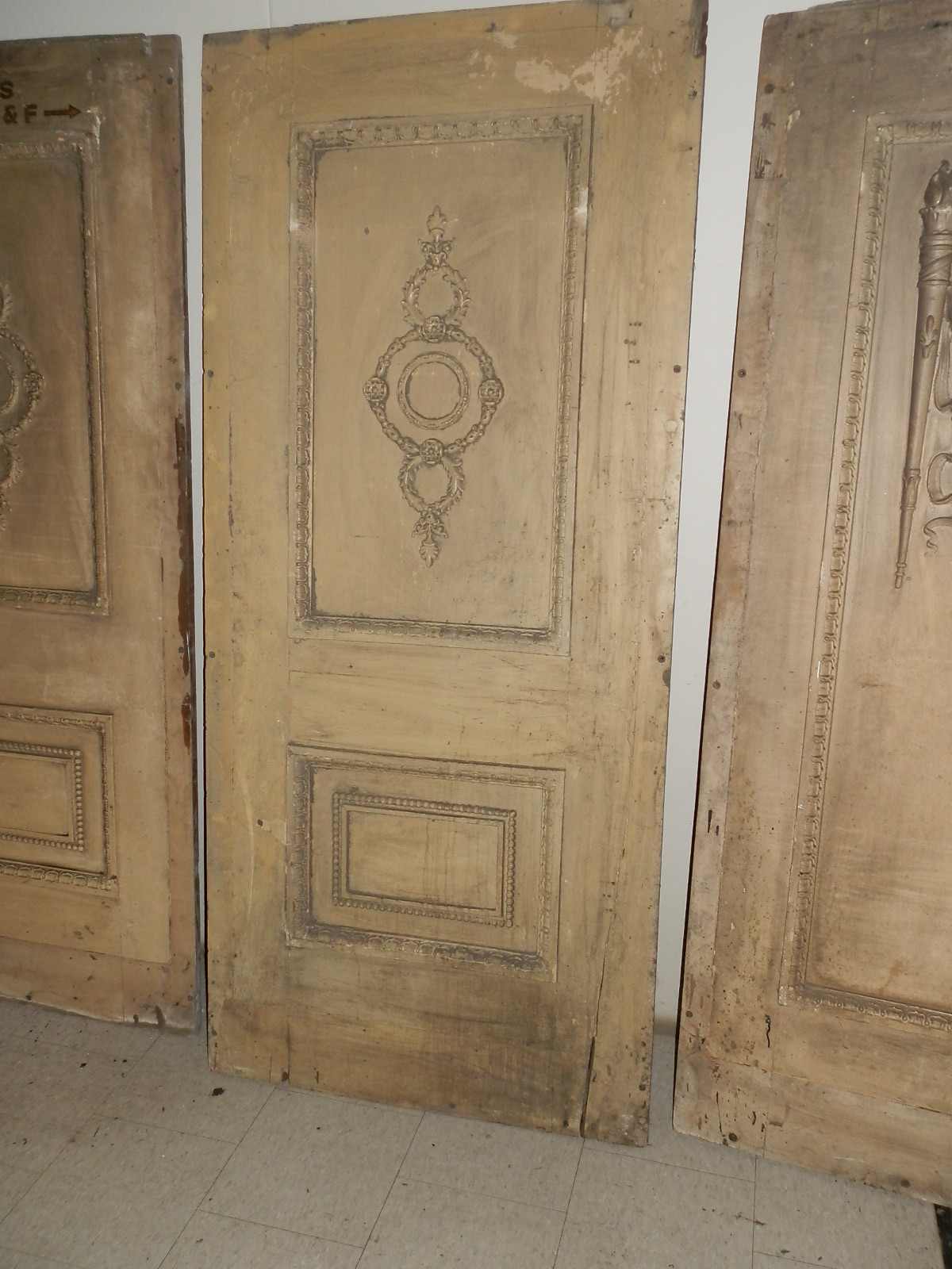 Antique Wall Panels ocean liner