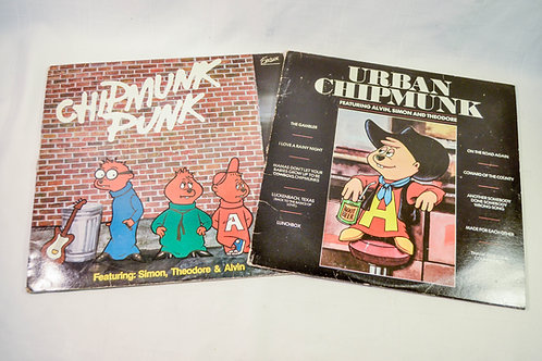 ALVIN & THE CHIPMUNKS RECORDS BUNDLE