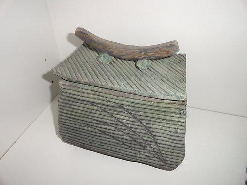 FRANS ROOD STONEWARE RAKU BOX