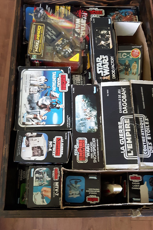 Most Amazing Vintage Star Wars Toys Collection