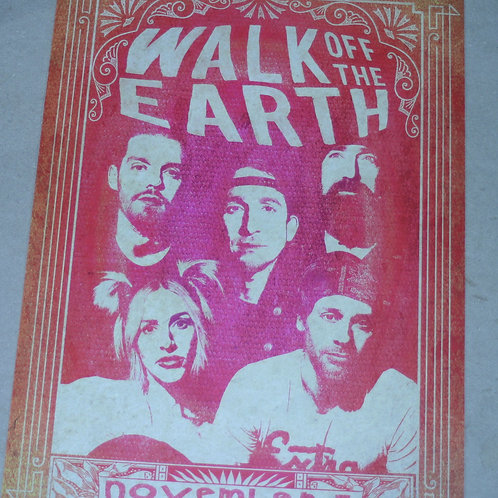 WALK OFF THE EARTH - NOV. 3 CONCERT POSTER
