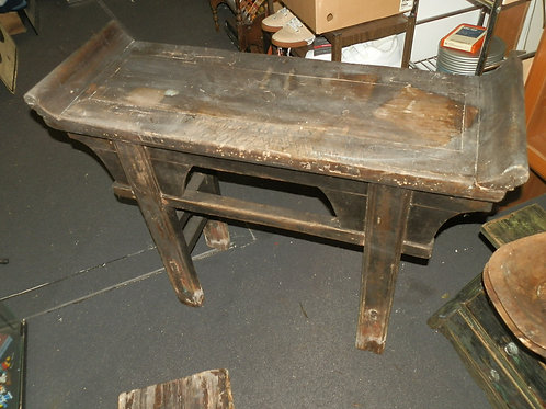 AUTHENTIC ANTIQUE CHINESE ALTAR TABLE