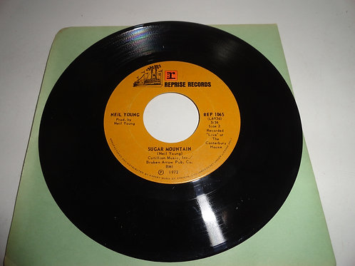 ERROR '45 RECORD NEIL YOUNG SUGAR MOUNTAIN/HEART OF GOLD